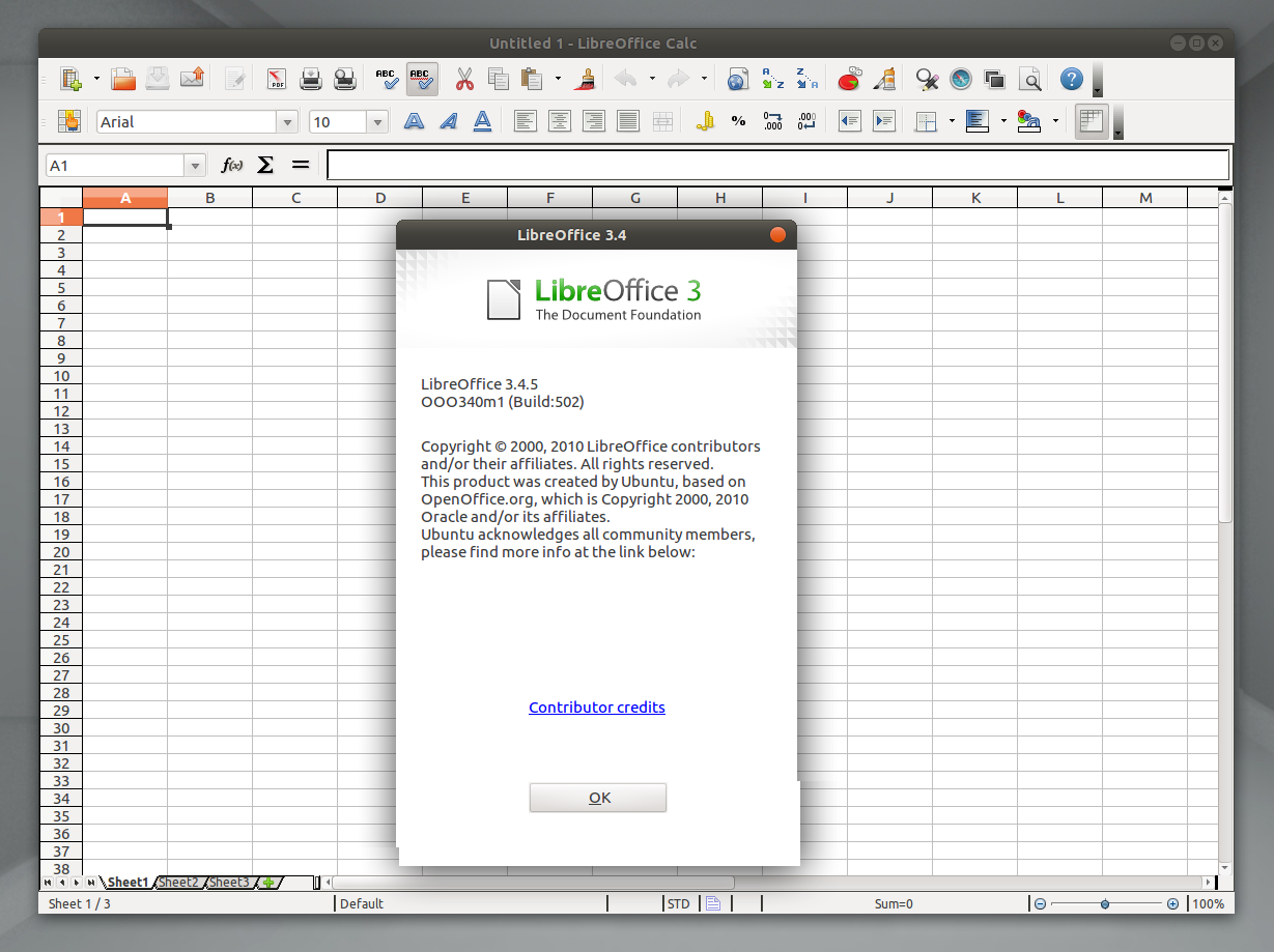 Libreoffice 3 4 5 Disponible C 243 Mo Instalarlo En Ubuntu 11