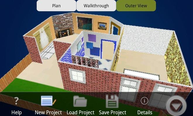 BuildApp Android Sample Model BuildApp, aplicación Android para el diseño de tu casa.