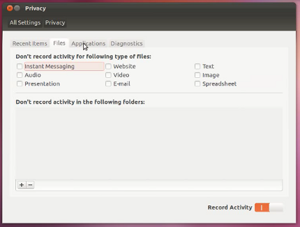 privacy Disponible Ubuntu 12.04 Beta 1