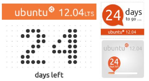 banner ubuntu12 Banners oficiales con la cuenta atrás para Ubuntu 12.04 y cómo colgarlo en tu blog