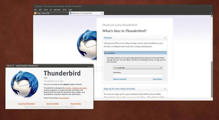 thunderbird ubuntu Mozilla deja Thunderbird en manos de la comunidad