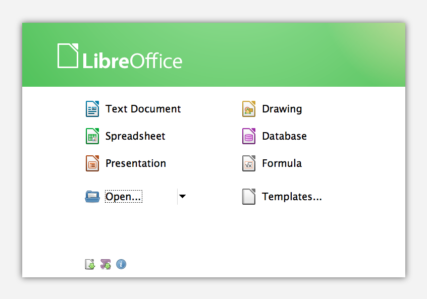 LibreOffice3.6.0.2plusStartCenter Disponible LibreOffice 3.6 para descarga