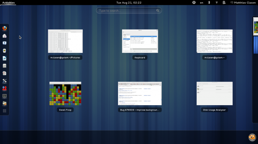 gnome 36 1024x575 ¿Qué esperar de GNOME 3.6?