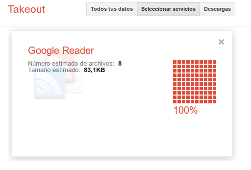 takeout2 Google cierra Google Reader. Dont Panic! Salva tus feeds con Takeout!