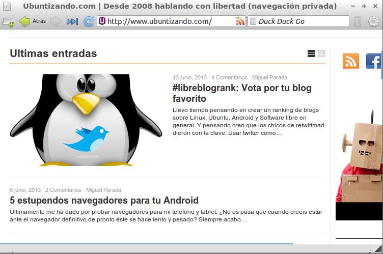 midori 5 navegadores Web Ligeros