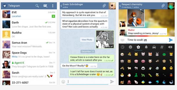 telegram Facebook compra Whatsapp y Telegram como alternativa para superar el trauma.