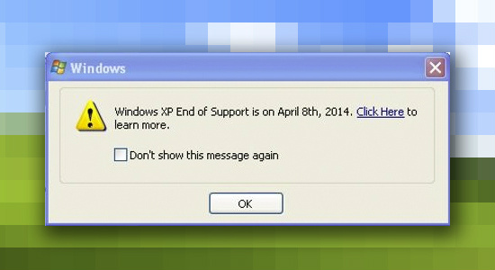 WindowsXP support window Usuario de Windows XP ¿Qué harás el 8 de abril?