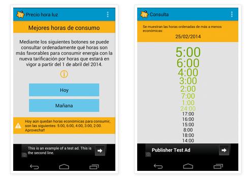 precio luz 2 3 aplicaciones android para ahorrar en tu factura de la luz.