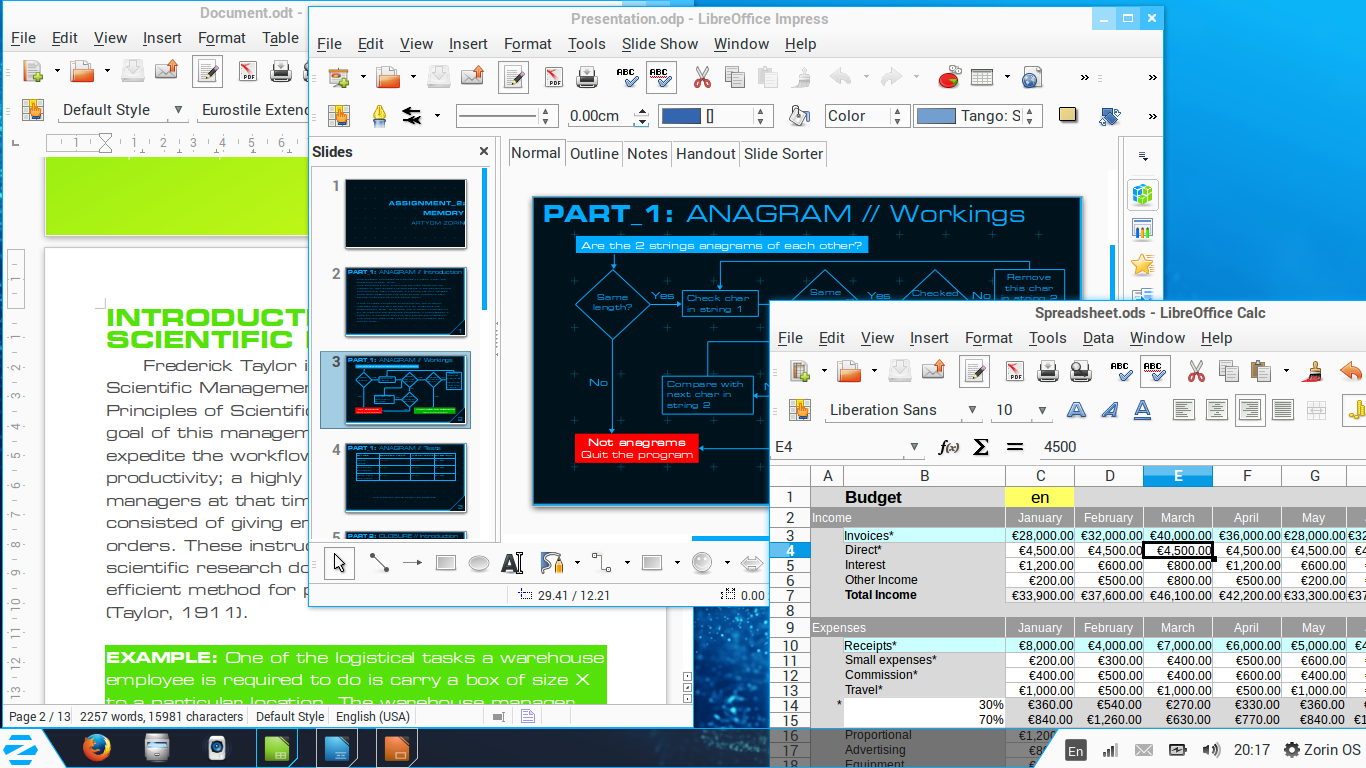Office Zorin OS 9   Una distribución Linux para usuarios Windows