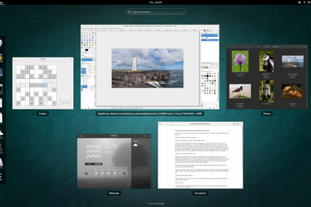 Disponible Gnome 3.14