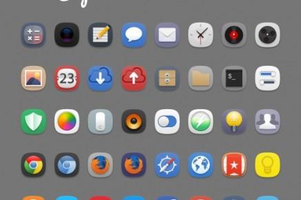 Personaliza tu escritorio con los iconos Captiva