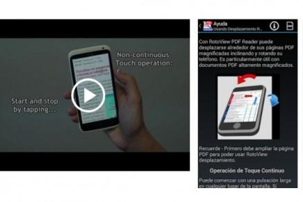 RotoView: Lector PDF permite leer, hacer apuntes y subrayar documentos desde tu Android
