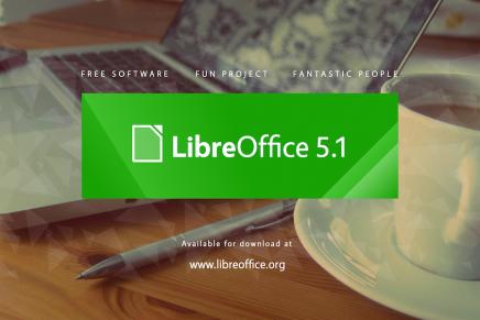 Disponible LibreOffice 5.1