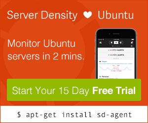 ServerDensity. Linux server monitoring.