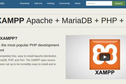 Cómo instalar XAMPP en GNU/Linux