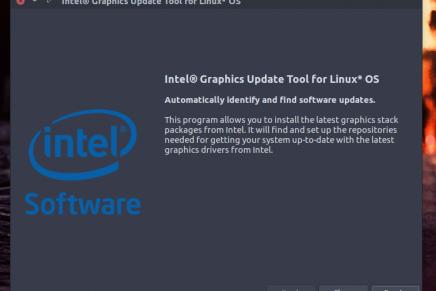 Intel Graphics Installer: Nuevos drivers gráficos para Fedora 24 y Ubuntu 16.04