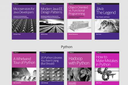La editorial O'Reilly ofrece libros de programación gratuitos