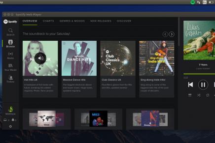 Spotify Web Player, una webapp muy completa para Linux