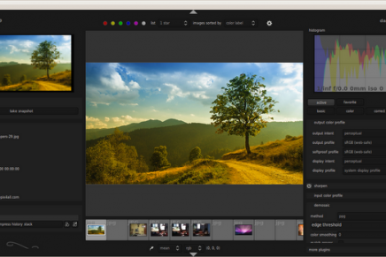 Darktable : Alternativa libre a Adobe Lightroom para Ubuntu