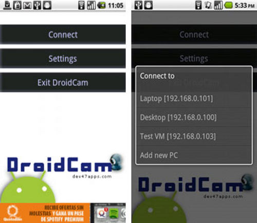 DroidCam-Android