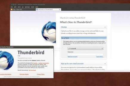 Mozilla deja Thunderbird en manos de la comunidad