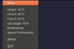 ¿Cómo conocer la temperatura del hardware de nuestro PC con Psensor?