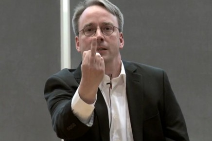 Linus Torvalds contra los discos duros