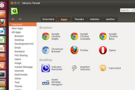 Ubuntu Tweak 0.8.6 disponible