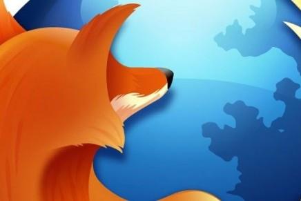 Ya puedes probar la nueva versión beta de Firefox 29