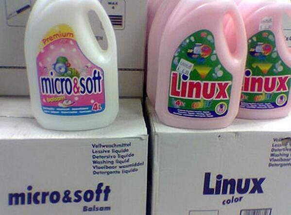 linux en el supermercado