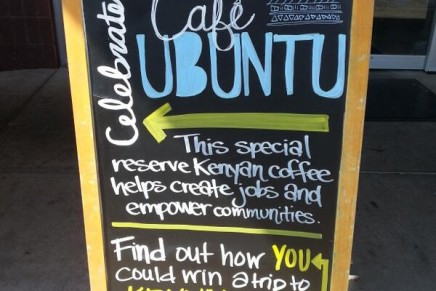 Bebe café Ubuntu