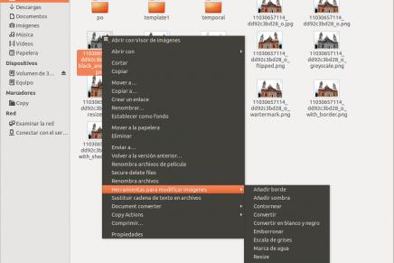 Convierte y modifica tus archivos con un click en Nautilus