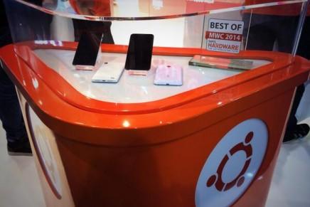 Canonical presenta sus smartphone con Ubuntu Touch en el MWC
