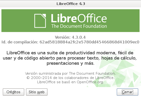 LibreOffice-4.3