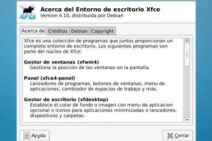 Instalar Xfce 4.10 en Debian Wheezy