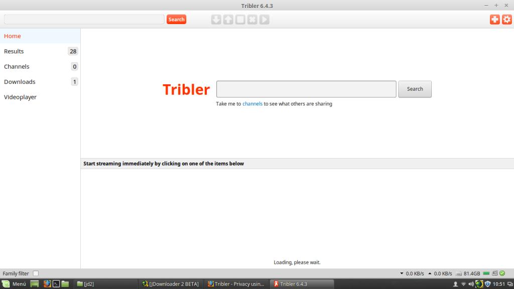 tribler home