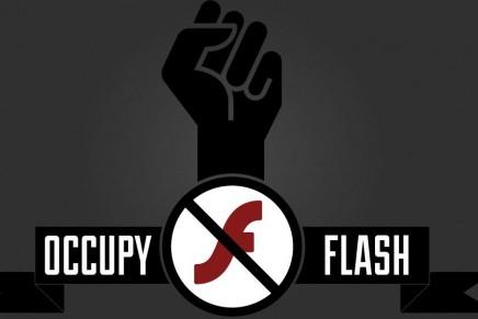 Flash ha muerto. Bueno, casi, le queda muy poco.