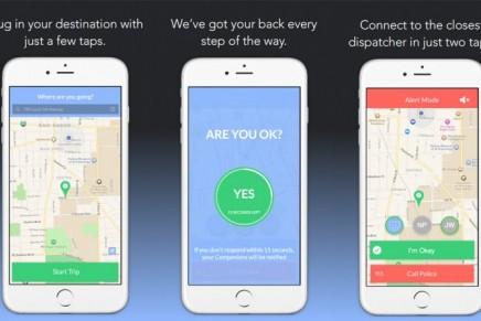 Una app que te acompaña en tus desplazamientos.