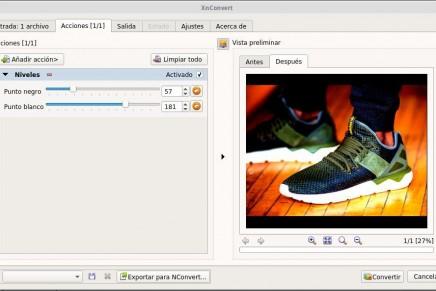 XnConvert: procesando tus imágenes en lote a toda velocidad