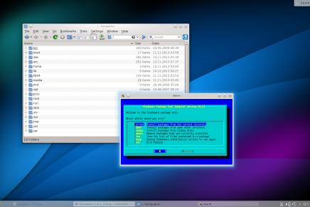 Tras cuatro años ya llegó Slackware 14.2