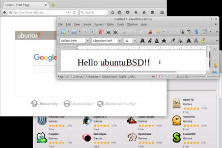 """Disponible UbuntuBSD 16.04 Beta 1 """"A New Hope"""""""