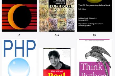 25 libros para aprender a programar.