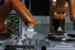Los robots versus música