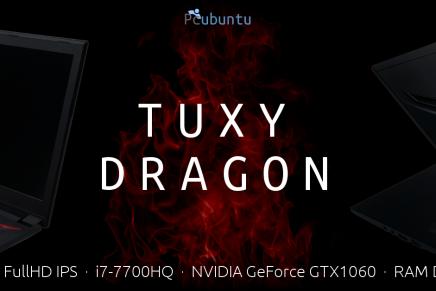 Tuxy Dragon, el portátil para Gamers Linux que estabas esperando