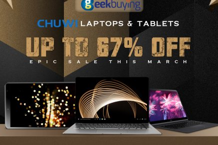 No te pierdas la espectacular gran venta de CHUWI en Geekbuying