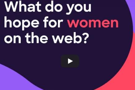 Más mujeres por una mejor Web