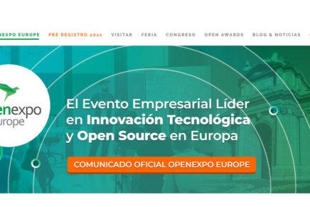 OpenExpo Europe cancela su 7a edición a causa del COVID – 19
