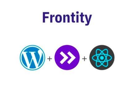 Frontity: el framework opensource que conecta React en el frontend y WordPress en backend
