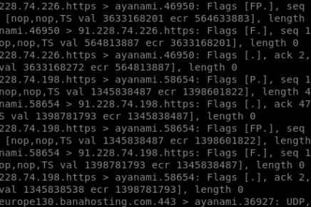 Tcpdump: utilidad en línea de comandos de Linux para diagnosticar en vivo problemas en nuestra red